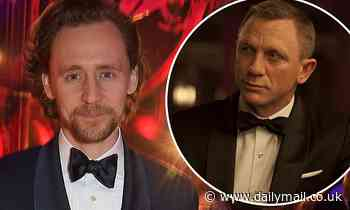 Tom Hiddleston plays coy when asked about taking over as James Bond