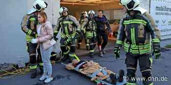 Feuerwehr-Übung in Kesselsdorf – DNN - Dresdner Neueste Nachrichten