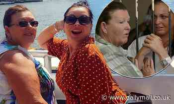 Schapelle Corby and her rarely seen mother Rosleigh Rose enjoy a cruise on Sydney Harbour