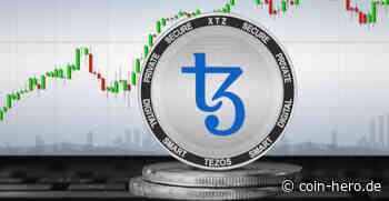 Der Kurs für Tezos (XTZ) liegt nach dem Ausverkauf über 6,20 USD - Coin-Hero