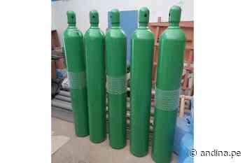 Municipio de Jayanca dispone compra de balones de oxígeno medicinal - Agencia Andina