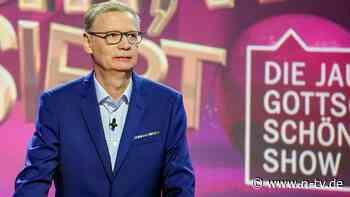 Covid-19-Erkrankung dauert an: Günther Jauch muss sich erneut krankmelden