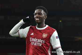 West Ham offered Eddie Nketiah transfer hope after Arsenal agree new Folarin Balogun contract