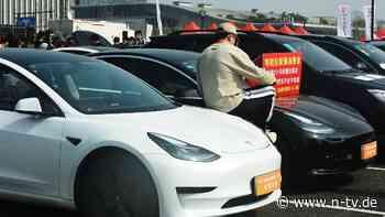 Keine illegale Datenerfassung: Tesla gibt China ein Spionage-Versprechen