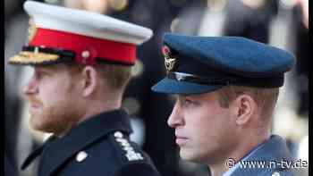 Bei Prinz Philips Begräbnis: Wie begegnen sich Harry und William?