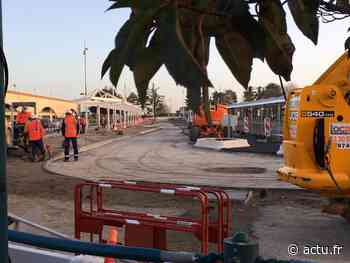 Chessy : la gare routière nord s'agrandit - actu.fr