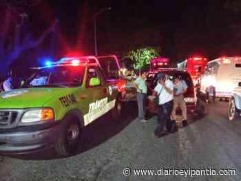 En Catemaco accidente cerca de la semo - Diario Eyipantla