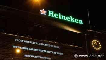 Heineken targets carbon-neutral value chain by 2040