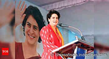 Take concrete steps to prevent Covid-19 spread: Priyanka Gandhi to UP govt