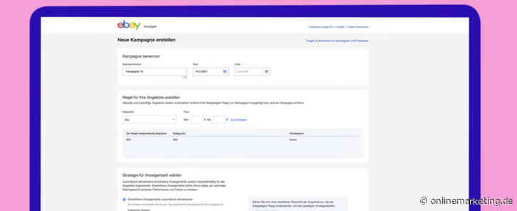 eBay Ads launcht Feature für automatisierte Anzeigenkampagnen