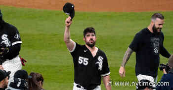 Carlos Rodon Loses Perfect Game in 9th, Gets No-Hitter