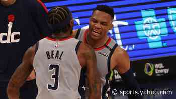 Bradley Beal amazed at Russell Westbrook's 'mind-boggling' triple-doubles