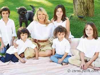 Solita Silveyra presentó a sus cinco nietos y habló de su radical cambio de vida tras el ACV - Caras