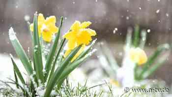 Temperaturen steigen: Bibber-April nimmt versöhnliches Ende