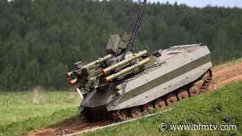 Moscou annonce la création d'une unité de chars robotisés - BFMTV