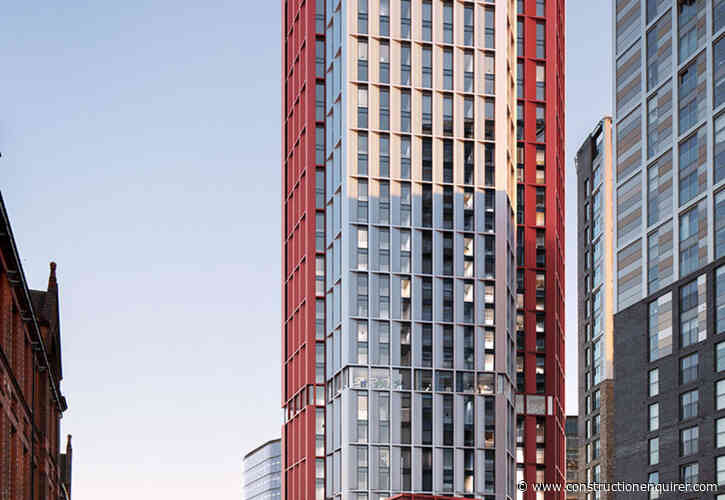 Plans in for 36-storey Salford co-living scheme