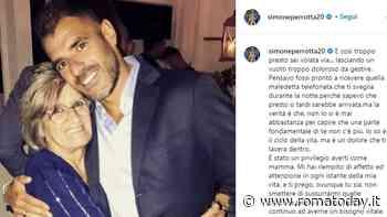 """Lutto per Simone Perrotta, morta la mamma dell'ex Roma: """"Sei volata via troppo presto"""""""
