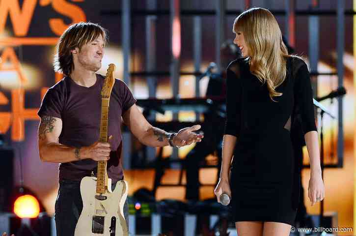 Keith Urban First Heard New Taylor Swift Songs While Chilling at the Mall
