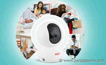 ACT Fibernet launches ACT Homecam security camera with two-way calling, motion detection, night vision and more