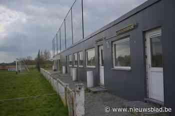 Vandalisme aan voetbalkantine