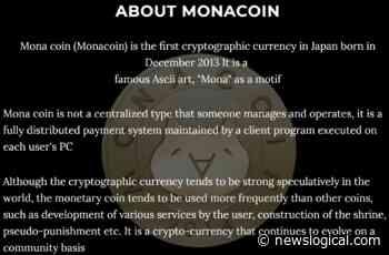 Monacoin (Mona):The Crypto Distinct World - NewsLogical