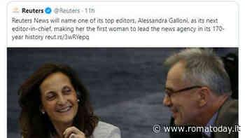 La giornalista romana Alessandra Galloni alla guida della Reuters: è la prima donna in 170 anni