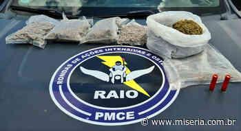 Mais traficantes presos e drogas apreendidas em Brejo Santo e Juazeiro - Site Miséria