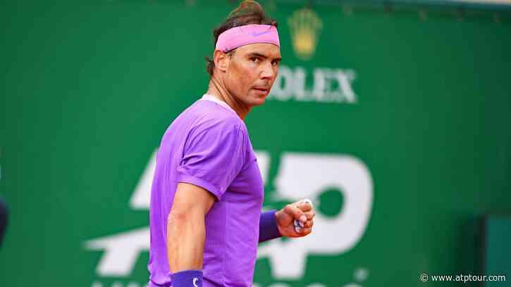 Clinical Rafael Nadal Dismisses Grigor Dimitrov In Monte-Carlo - ATP Tour