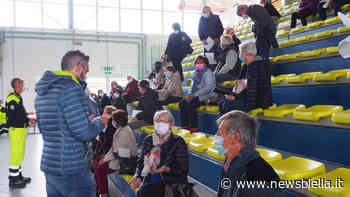 Vaccini, sei medici di famiglia impegnati al PalaGiletti di Ponzone per circa 240 over 70 FOTO - newsbiella.it
