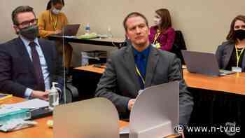 Prozess um toten George Floyd: Angeklagter Ex-Polizist verweigert Aussage