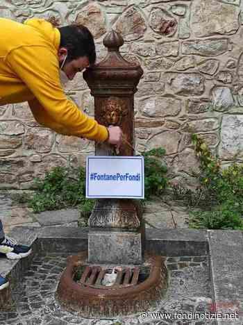 ''Più cura delle fontanelle della città'': la richiesta del gruppo Camminare Insieme - FondiNotizie.net