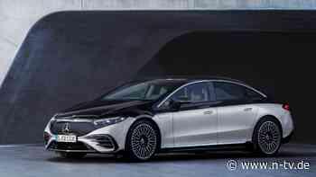 Stromernde S-Klasse enthüllt: Mercedes EQS feiert Weltpremiere
