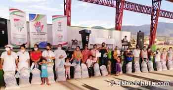 En Hobo, víctimas del conflicto recibieron donaciones - Diario del Huila