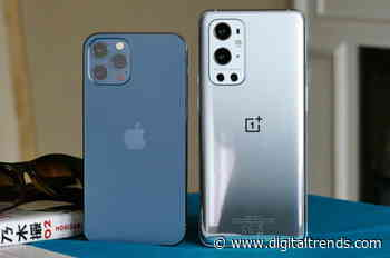 The OnePlus 9 Pro and iPhone 12 Pro are strikingly similar, but in a good way