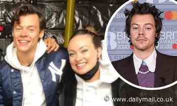 Harry Styles and Olivia Wilde seen 'enjoying romantic pub date in London'