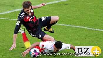 Vorm VfL-Spiel: Die Bayern bangen noch um Goretzka