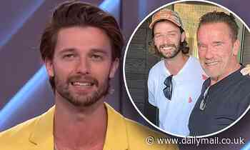 Patrick Schwarzenegger reveals his father Arnold repeats his famous one-liners 'all the time'
