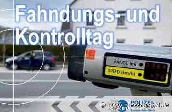 POL-EN: 230 kontrollierte Personen und Fahrzeuge