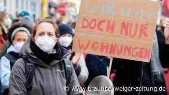 Wohnungsmarkt: Tausende protestieren in Berlin gegen Mietendeckel-Aus