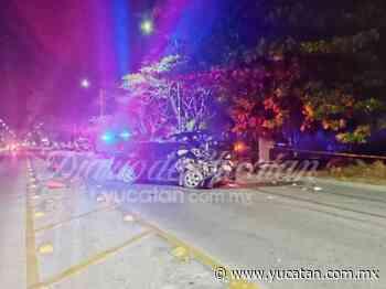 Automovilista se estrella contra una patrulla de la policía de Ticul - El Diario de Yucatán