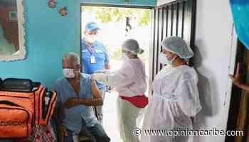 Ambulancia covid, inmuniza en los hogares de Ariguaní - Opinion Caribe