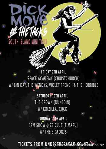 Dick Move & The Tacks w/ Bin Day, The Wendys & Zhukov - Space Academy, Christchurch - Undertheradar