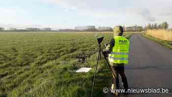 Drone gaat op zoek naar vogels in natuurgebied - Het Nieuwsblad