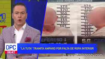 """""""La Tuta"""" se ampara por falta de ropa interior Imagen Televisión - Imagen Televisión"""