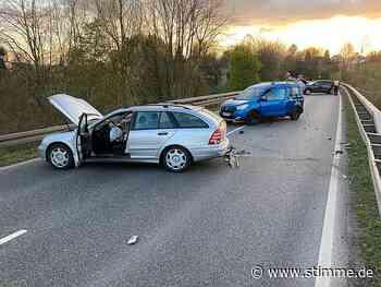 Drei Verletzte bei Unfall auf der B293 bei Leingarten - Heilbronner Stimme