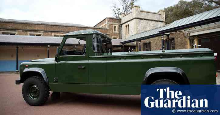 Funeral rehearsal gives first sighting of Land Rover Prince Philip helped design