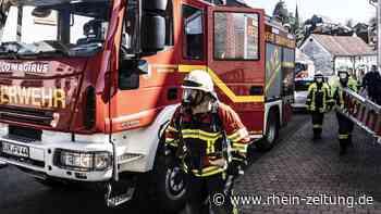 Feuerwehreinsatz in der Westrichstadt: Katze verendet bei Wohnungsbrand - Rhein-Zeitung
