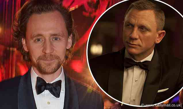 Tom Hiddleston plays coy when asked about taking over as James Bond - Daily Mail