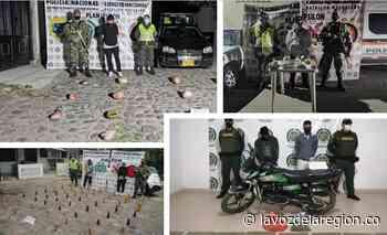A la cárcel traficantes de estupefacientes capturados en Paicol y Suaza - Huila