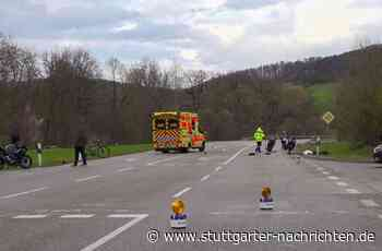 Zwei Schwerverletzte in Donzdorf - Biker prallt gegen Pedelec-Fahrer - Stuttgarter Nachrichten